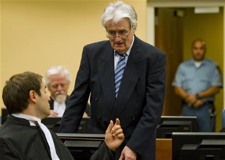 Radovan Karadzic, was held responsible for the Srebrenica genocide